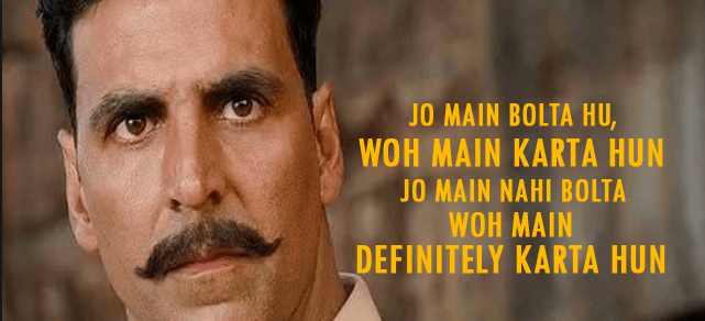 Akshay Angry Dialogues | eDefines