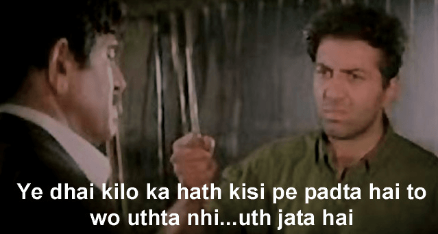 Sunny Deol Favorite Dialogues