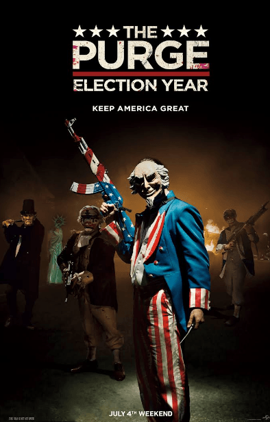 The Purge Election Year movie poster