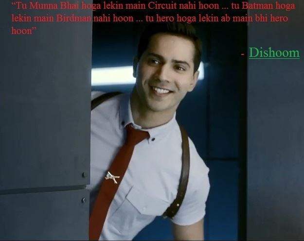 Dishoom movie varun dhavan all dialogues